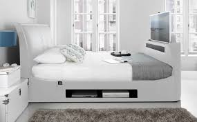 tv in bed. the maximus super king size tv bed tv in t