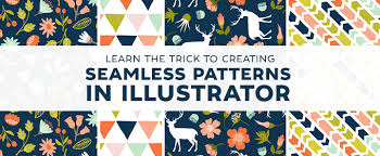 How To Make Pattern In Illustrator Amazing Learn The Trick To Creating Seamless Patterns In Illustrator