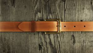 picture of how to make a leather belt