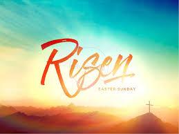 Risen Easter Sunday Church Powerpoint Easter Sunday Resurrection