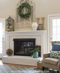 dated fireplace makeover amazing transformation on a small budget fireplaces mantels home decor