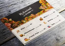 Make A Menu For A Restaurant How To Make A Restaurant Menu Flyer In Photoshop Photoshop