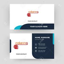 Visiting Card Design For Catering Services Caterer Business Cards Makar Bwong Co