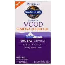 Minami Nutrition, <b>Суперкритикал Муд</b>, <b>рыбий жир</b> Омега-3, 500 мг ...