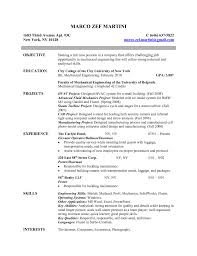 Resume Objective Civil Engineer Lovely Good Resume Objective Statement Engineering for Civil 41
