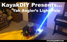 do it yourself led lighting. Homemade LED Whip Light Pole: Great For Kayak, Boat, Atv And More! - YouTube Do It Yourself Led Lighting