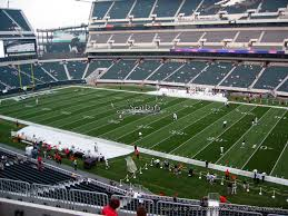 lincoln financial field section c4 philadelphia eagles rateyourseats
