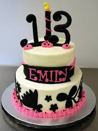 pink cakes for girls 13th birthday. Beautiful 13th For Pink Cakes Girls 13th Birthday D