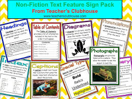 glossary for children text feature. Brilliant Glossary NonFiction Text Feature Sign Pack Everything Your Students Need To Know  About Nonfiction Literature From The Table Of Contents Glossary  In Glossary For Children