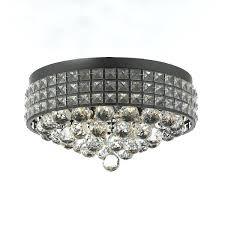 stirring flush mount french empire crystal chandelier with crystal crystal iron metal shade image ideas