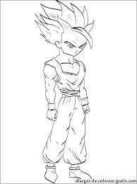 Dragon Ball Gohan Da Colorare Disegni Da Colorare Gratis