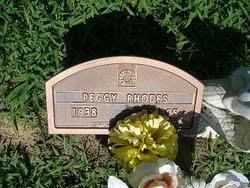 Peggy Rhodes (1938-1995) - Find A Grave Memorial