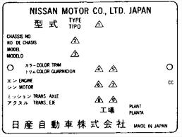 Toyota Trim Code Chart Xenonzcar Com Z32 Color Chart