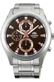 <b>Мужские</b> кварцевые наручные <b>часы Orient UY07002T</b> ...