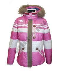 <b>Куртка горнолыжная</b> зимняя женская <b>Bogner</b> (пурпурный ...