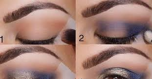 evening eye makeup for brown eyes