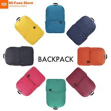 New Original Xiaomi <b>Mi Backpack 10L</b> Bag 8 Colors 165g Urban ...