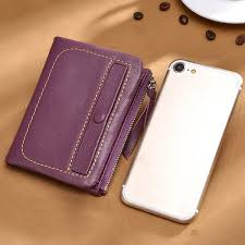 hot women genuine leather card holder wallet high end purse newchic