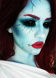 12 scary bride makeup looks ideas for