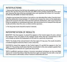 5 Testsure Methamphetamine Met Drug Test Kit At Home Urine Drug Screen For Meth Methamphetamine