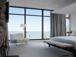 View in gallery Bertoia Bench at the foot of the bed perfect for the  contemporary home