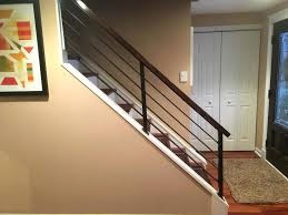 interior railings home depot inspirational cost glass railing system modern staircase ideas stainless steel deck per