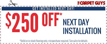 carpet deals. carpet sale - $250 off next day installation deals y
