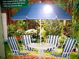 new in box patio set table 4 chairs parasol