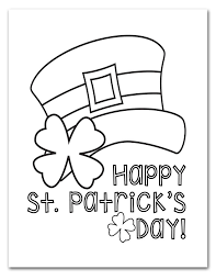 St Patricks Day Coloring Free Printable St Patricks Day Coloring Pages I Should