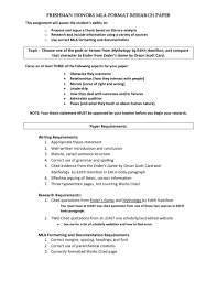 027 Example Research Papers Mla Format For Unique Paper Outline