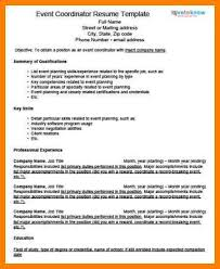 Event Planner Resume Objective 9 Event Planner Resume Objective Business Opportunity Program