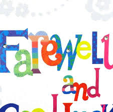 printable goodbye cards office farewell clipart collection