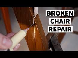 a broken chair furniture repair