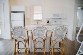 bistro counter stools. Top 54 Splendiferous Wildwood Island Bistro Counter Stools The Cottage Diaries Moving In Rambling Renovators White Kitchen Serena Lily Black Riviera French U
