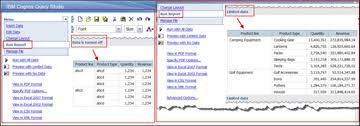 Run The Report Ibm Cognos Business Intelligence V10 Using