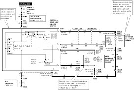 2000 ford horn the wiring diagram for the electric mirror