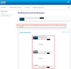 unlink citi credit card from account