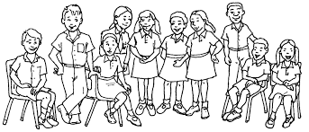 big happy family coloring pages archives womanmate com inside