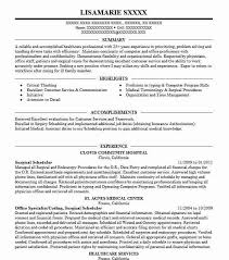 scheduler resumes surgical scheduler resume example clovis community hospital