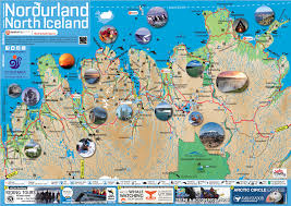 maps of north iceland  visit north iceland