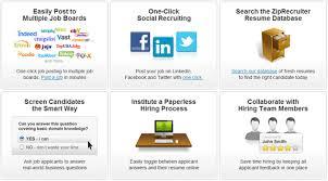 Ziprecruiter Resume Stunning 3712 ZipRecruiter Review Job Posting Site For Employers