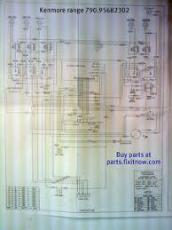 wiring diagrams and schematics appliantology kenmore range mod 790 95682302 schematic
