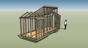 x Solar House Plans   Progress Report   Tiny House Design x  solar house front