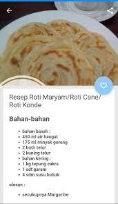 Masukkan terigu, gula, telur dan susu cair secara bertahap. Resep Roti Maryam For Android Apk Download