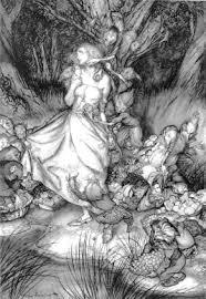 Arthur Rackhams Phrenological Landscape In Betweens Goblins And