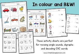 See our extensive collection of esl phonics materials for all levels, including word lists, sentences, reading passages, activities, and worksheets! Phonics Worksheets Assessment And Revision Little Lifelong Learners