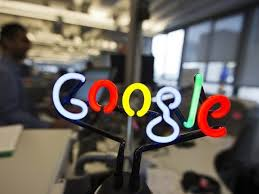 Google office photos 13 google Dublin Neon Google Logo Is Seen As Employees Work At The New Google Office In Toronto The Express Tribune Googles New Cloud Boss Has Big Task To Catch Rivals The Express