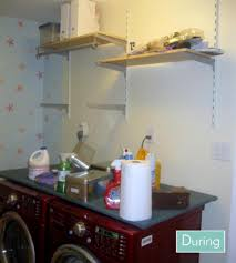 Washer Dryer Shelf Laundry Room 2 Shelf Over Stacked Washer Dryer