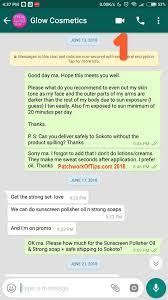 Scam Is Nutrient A - Glow Nigeria Cosmetics Uzuh Vera