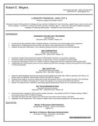 sr financial analyst resume senior financial analyst resume sr financial analyst resume 4330